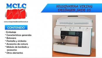Máquina De Coser Y Bordar Husqvarna Viking JADE 35