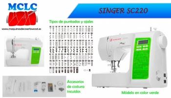 Presentación Máquina De Coser Singer SC220